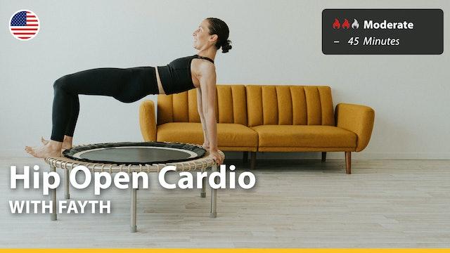 Hip Open Cardio | 9/26/21 | Fayth