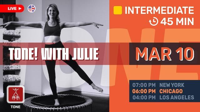 [LIVE] barre FIT! | 3/10/21 | Julie