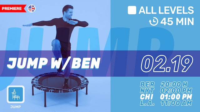 bellicon® JUMPING FITNESS | 2/19/21 | Ben