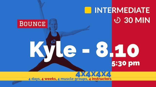 4x4x4x4 Challenge: Week 4 - Cardio Blast | 8/10/20 | Kyle