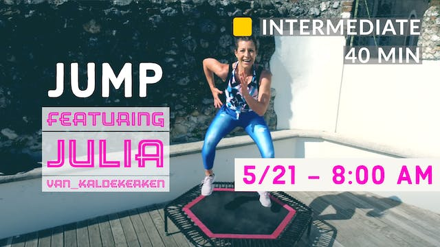 JUMPING CARDIO WEEK - Basic Jump | 5/...