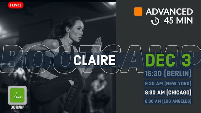 BOOTCAMP | 12/3/20 | Claire
