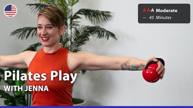 Pilates Play | 7/19/21 | Jenna