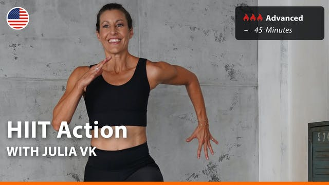 HIIT Action | 3/17/21 | Julia vK.