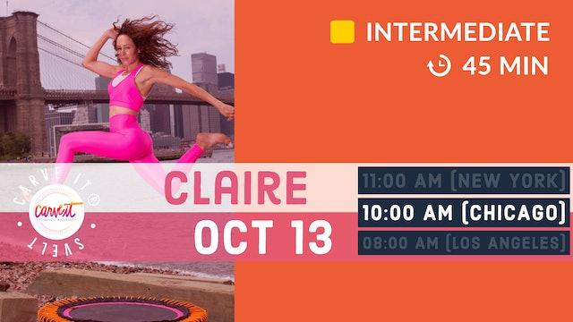 Carve It® SVELT-down | 10/13/20 | Claire