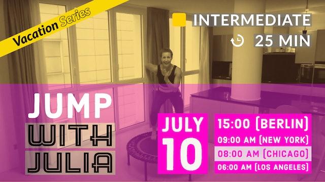 Jump Start your Day CARDIO | 7/10/20 | Julia