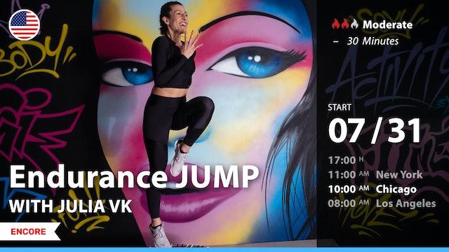 [ENCORE] Endurance JUMP | 7/31/21 | Julia vK.