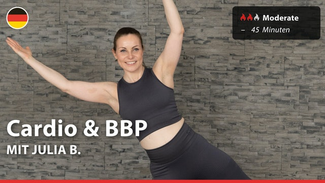 Cardio & BBP | 7/2/21 | Julia B.