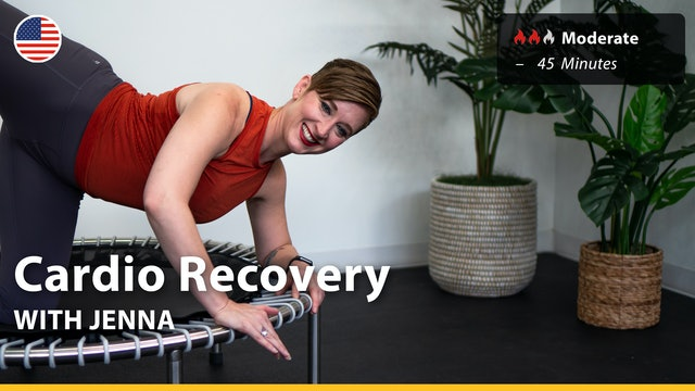 Cardio Recovery | 7/15/21 | Jenna