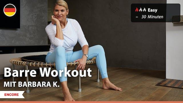 [ENCORE] Barre Workout | 9/1/21 | Bar...