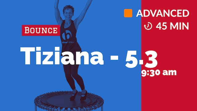 Bounce to the Beat | 5/3/20 | Tiziana