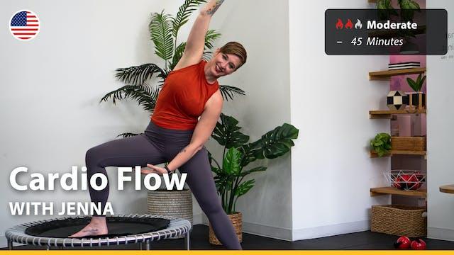 Cardio Flow | 7/22/21 | Jenna