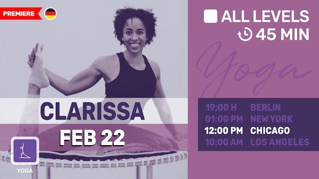 Yoga Hüftöffner | 2/22/21 | Clarissa