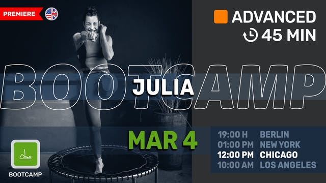 Tabata Blast | 3/4/21 | Julia vK.