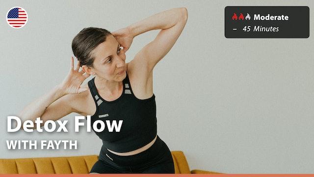 Detox Flow   9/14/21   Fayth