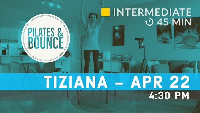 Pelvic Floor Strong Bounce | 4/22/20 | Tiziana