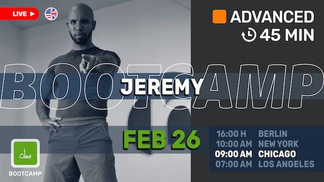 Core Bootcamp! | 2/26/21 | Jeremy