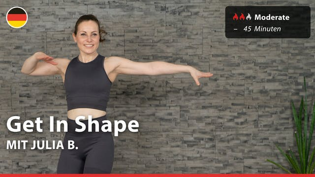 Get In Shape | 7/16/21 | Julia B.