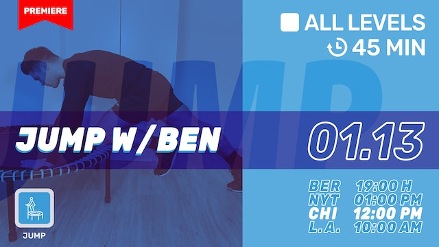 bellicon® JUMPING FITNESS | 1/13/21 | Ben