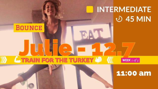 [ENCORE] TRAIN for the Turkey: Week 1...