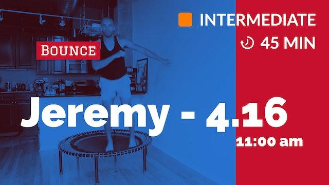 Endurance Bounce | 4/16/20 | Jeremy