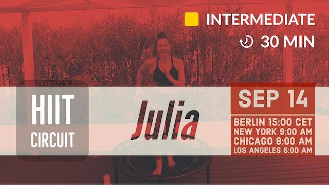 HIP HOP meets Urban Latin Workout | 9/14/20 | Julia