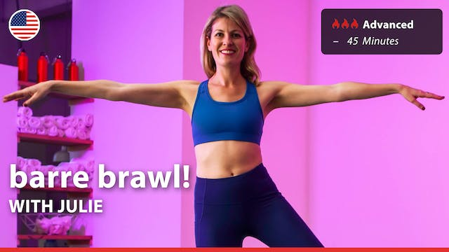 barre brawl! | 3/31/21 | Julie