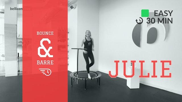 Express Bounce & Barre | 3/20/20 | Julie