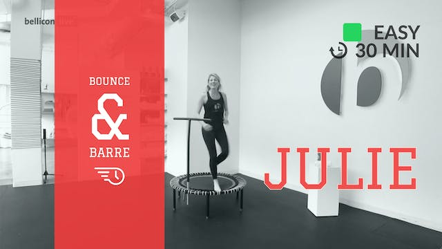 Express Bounce & Barre | 3/20/20 | Julie