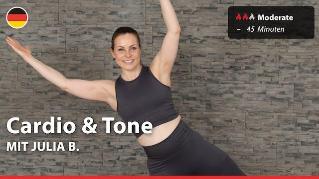Cardio & Tone | 4/19/21 | Julia B.