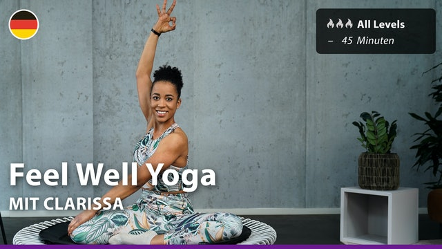 Feel Well Yoga | 5/20/21 | Clarissa