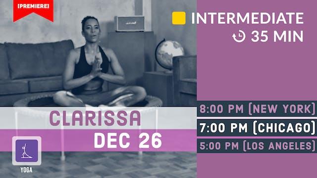 Jingle Yoga | 12/26/20 | Clarissa
