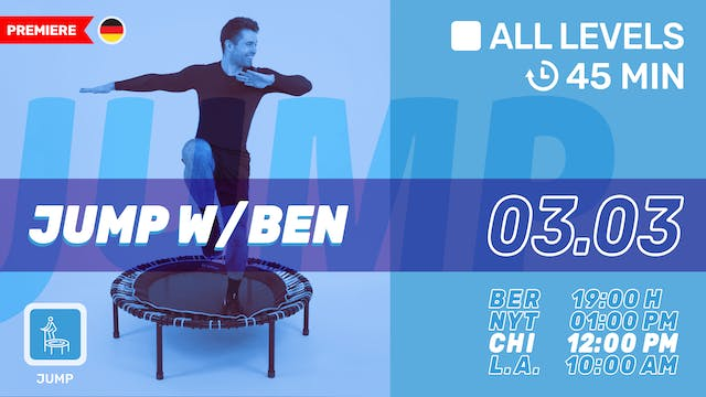 bellicon® JUMPING FITNESS | 3/3/21 | Ben