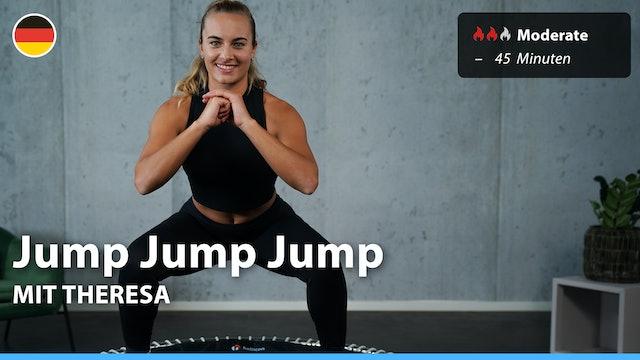 Jump Jump Jump | 4/26/21 | Theresa M.