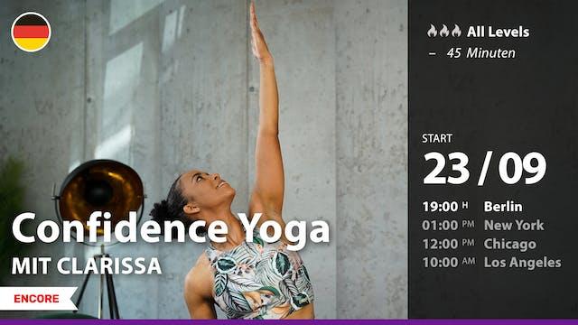 [ENCORE] Confidence Yoga | 9/23/21 | ...