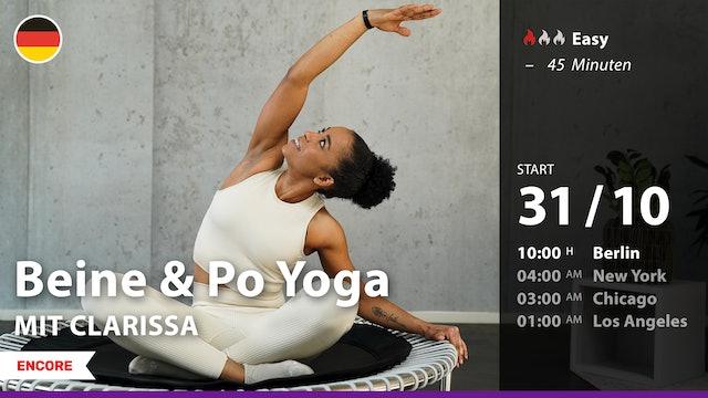 [ENCORE] Beine & Po Yoga | 10/31/21 | Clarissa