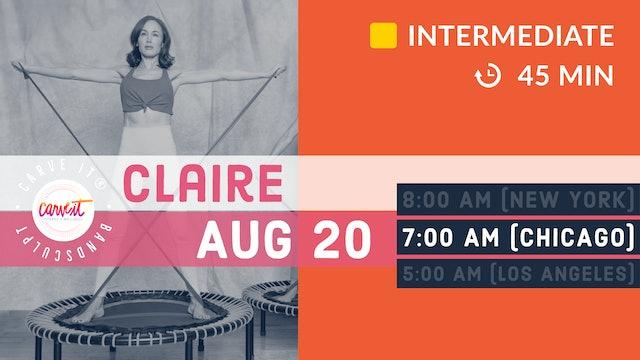 Carve It® | BANDSCULPT | 8/20/20 | Claire
