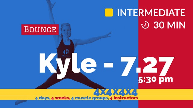 4x4x4x4 Challenge: Week 2 - Sleek Legs | 7/27/20 | Kyle