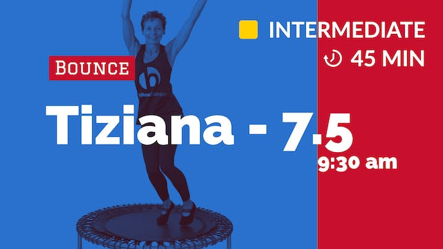 Bounce to the 80s | 7/5/20 | Tiziana