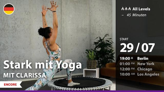 [ENCORE] Stark mit Yoga | 7/29/21 | Clarissa
