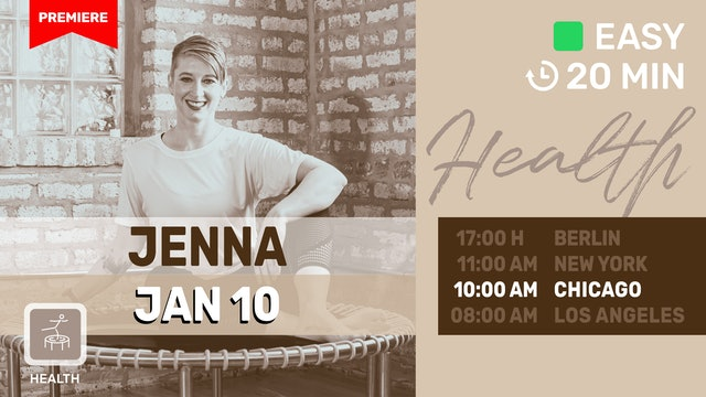 Meditate Into The New Year With Jenna | 1/10/21 | Jenna