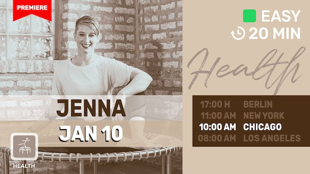 Meditate Into The New Year With Jenna...