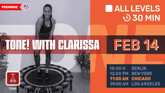 Sweet & Sexy Valentine's Workout - Tone It Up! | 2/14/21 | Clarissa