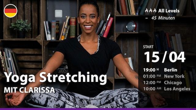 [PREMIERE] Yoga Stretching | 4/15/21 | Clarissa
