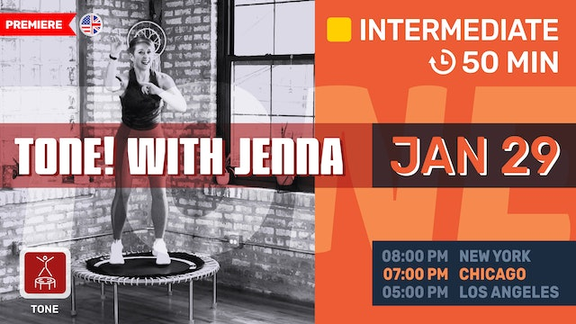 Pilates Meets Bounce | 1/25/21 | Jenna