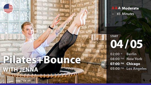 Pilates+Bounce | 4/5/21 | Jenna