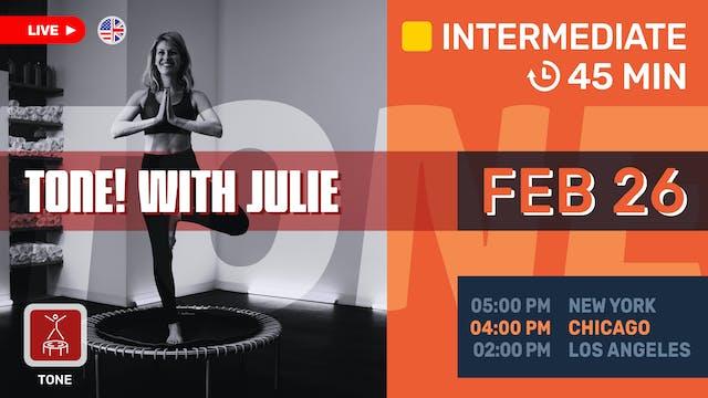 trim & tone | 2/26/21 | Julie