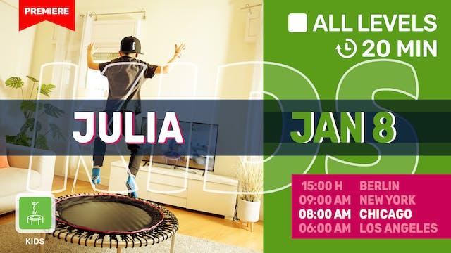 FIT TEENS 10 – 13 Jahre | 1/8/21 | Julia