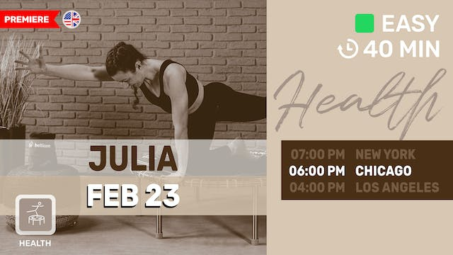Healthy Tone & Shape | 2/23/21 | Juli...