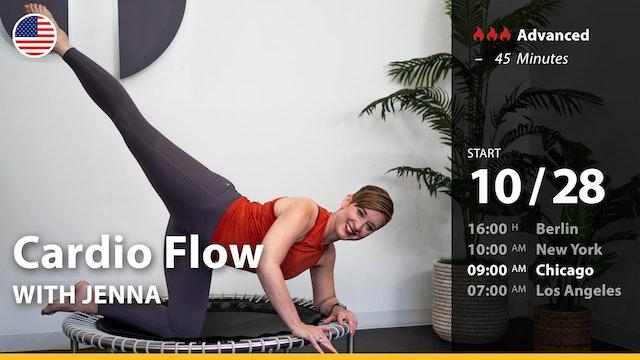 [LIVE] Cardio Flow | 10/28/21 | Jenna